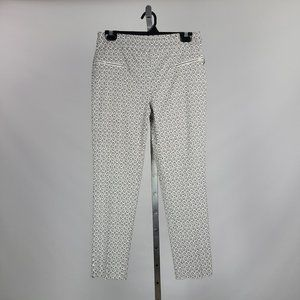 Jules & Leopold Printed Skinny Pants Size M